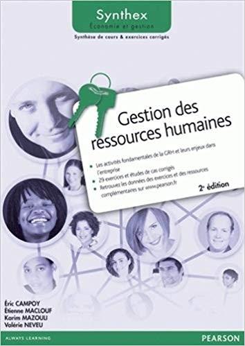 """Photo livre """"Gestion des Ressources Humaines"""""""